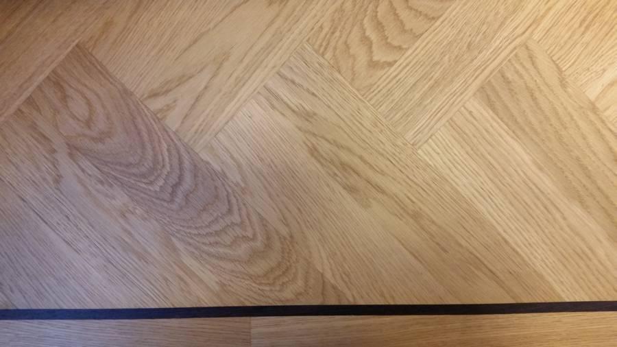 klassieke visgraat parket vloer