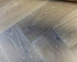 rustieke visgraat tapis vloer