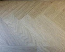 dubbel gerookte visgraat vloer