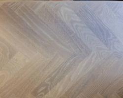 geborstelde tapis vloer
