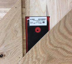 4A Fidbox in visgraatvloer