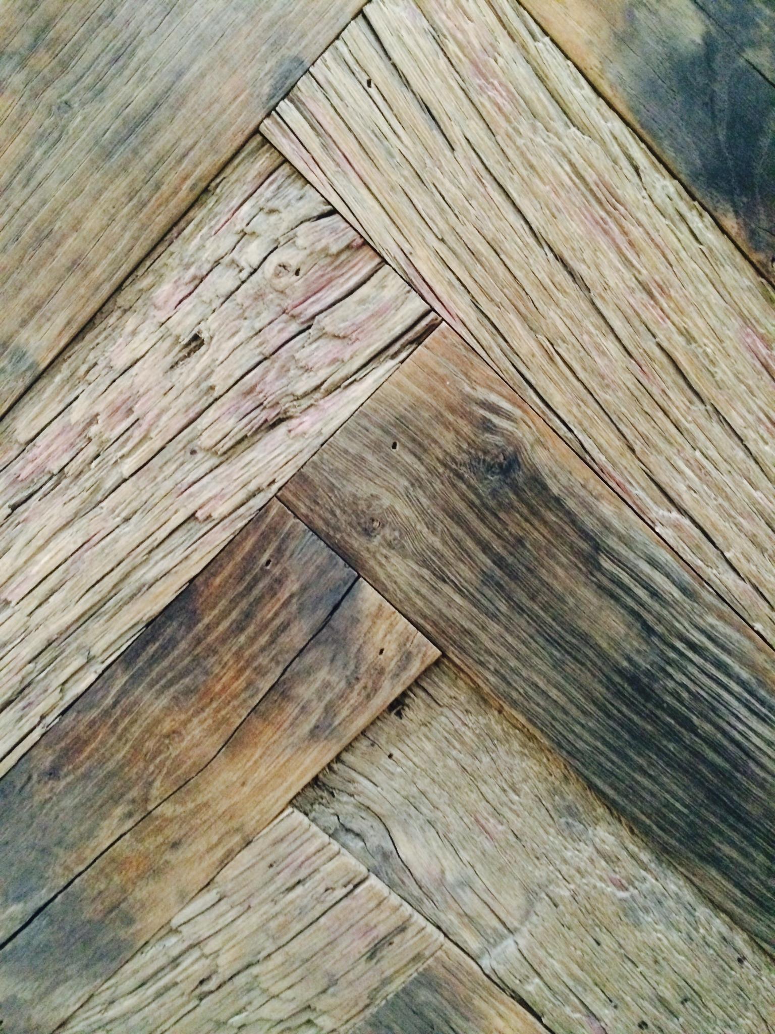 visgraat vloer verouderen visgraatvloer