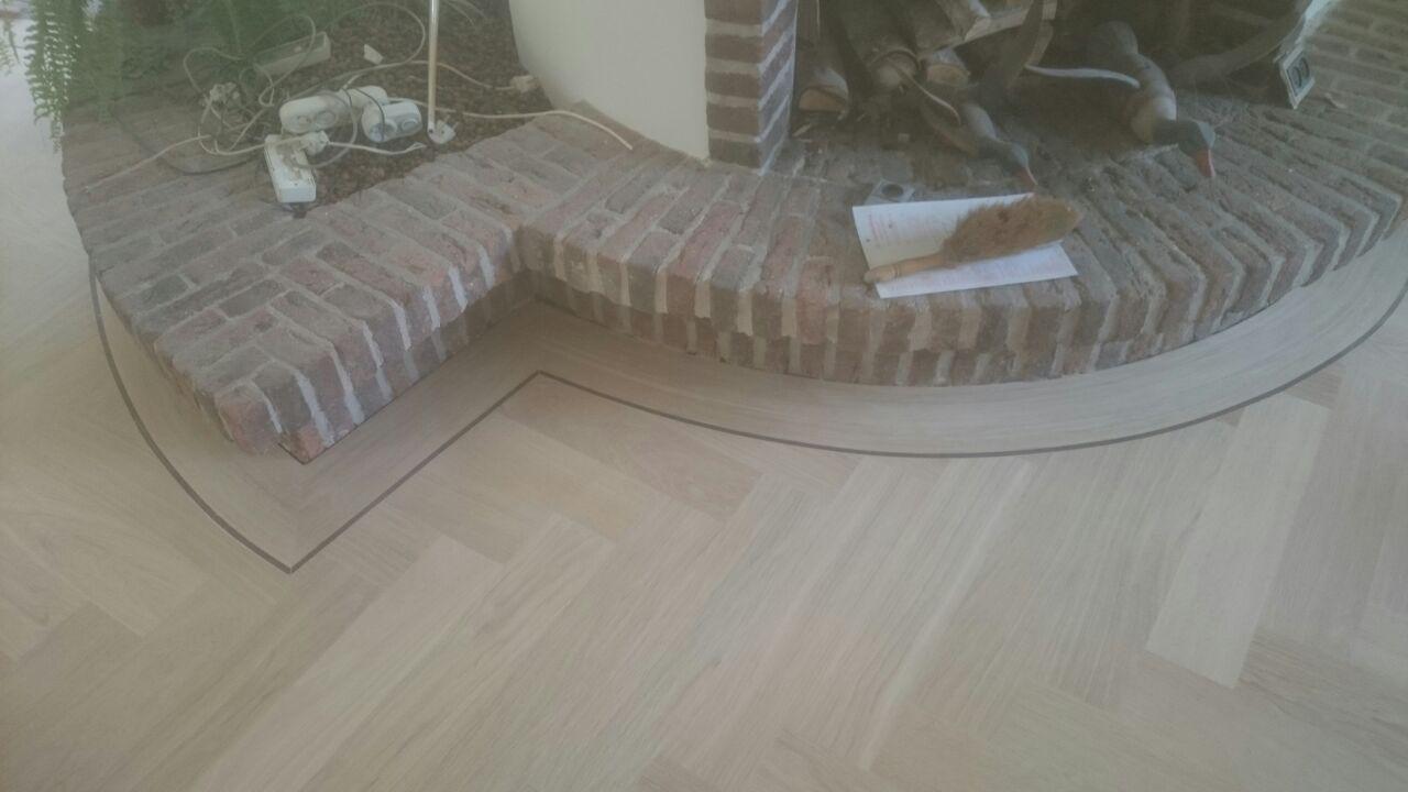 Goedkope visgraat houten vloer