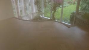 tuinkamer met visgraatvloer