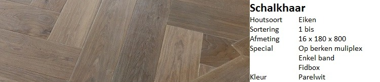 visgraat vloer schalkhaar