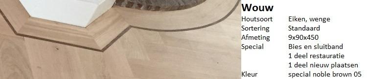 visgraat vloer wouw