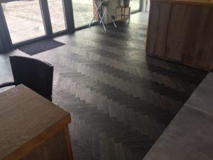 visgraat vloer in project kwaliteit