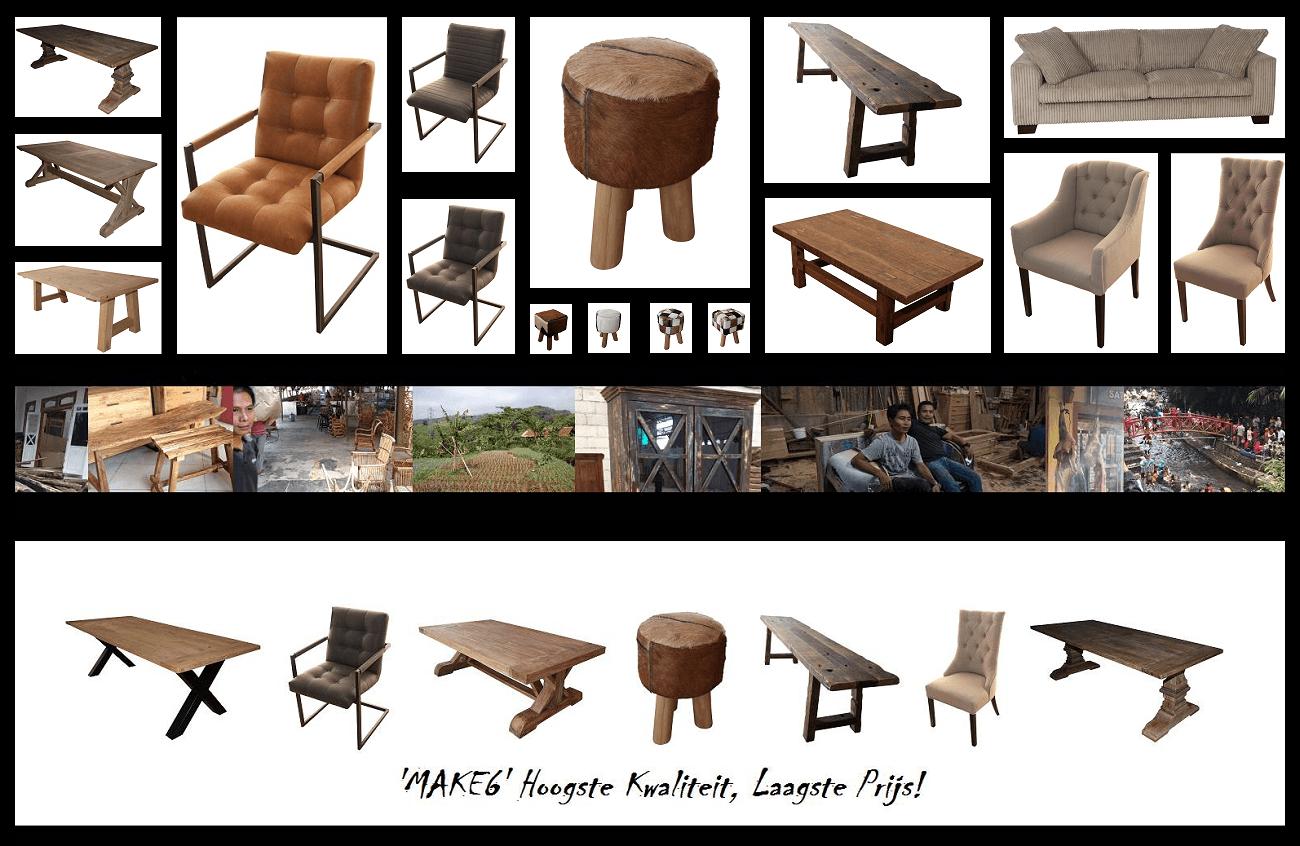 landelijke meubelen