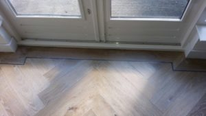 white wash visgraat vloer