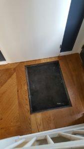 visgraat vloer schoonloopmat