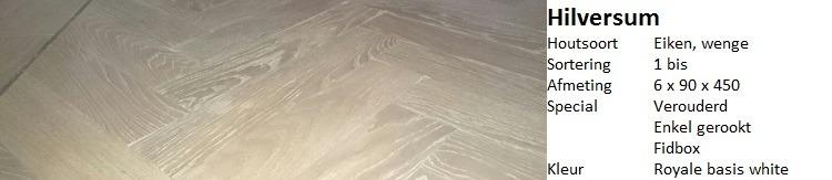 Visgraat vloer Hilversum