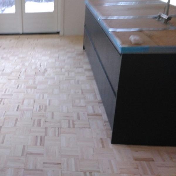 Visgraat vloer Aalsmeer