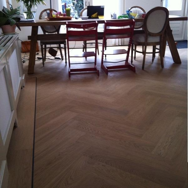 visgraat vloer herringbone