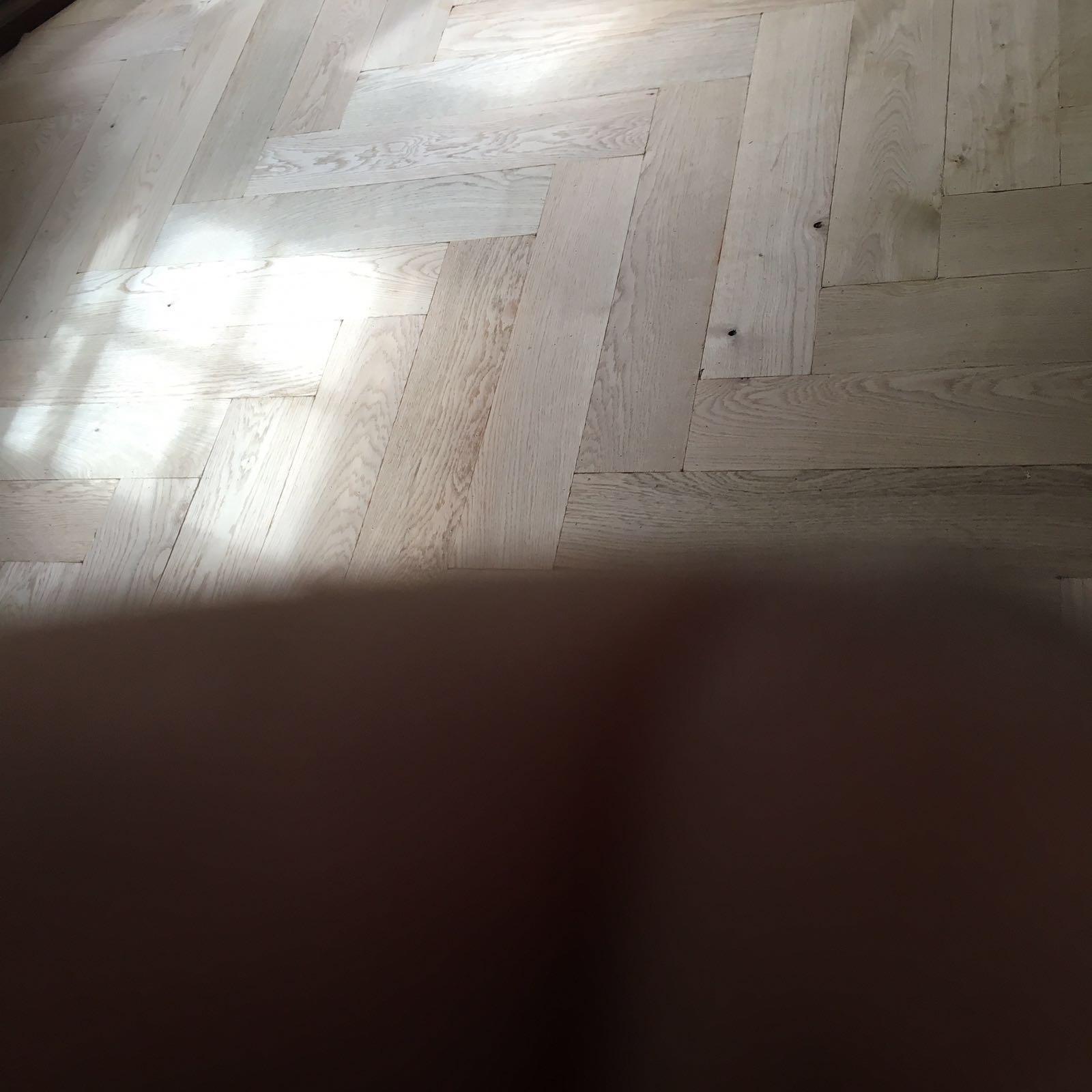 visgraat vloer leggen
