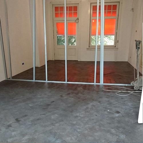 Visgraat vloer Enschede