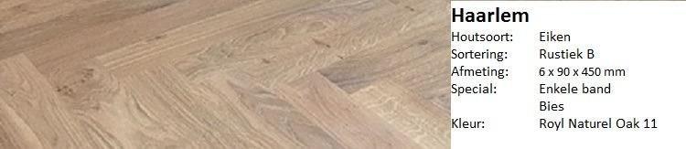 Authentieke visgraat vloer