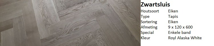 Visgraat vloer Zwartsluis