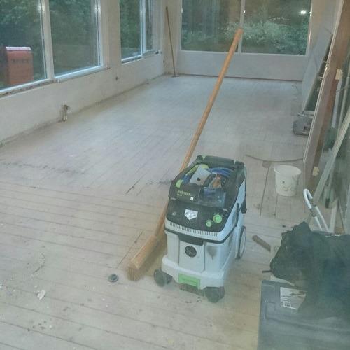 Moderne visgraat vloer Waddinxveen