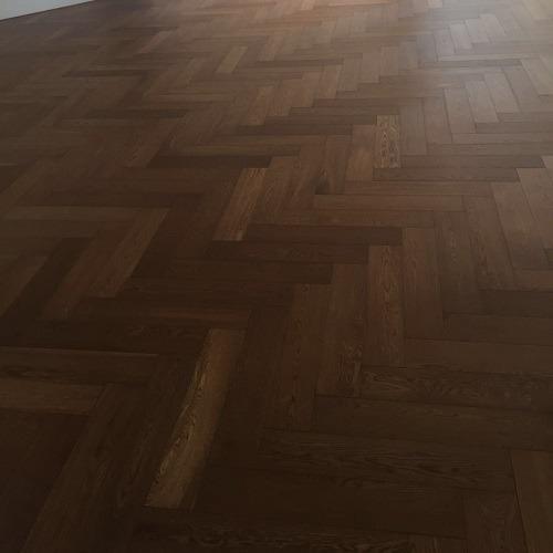 klassieke visgraat vloer