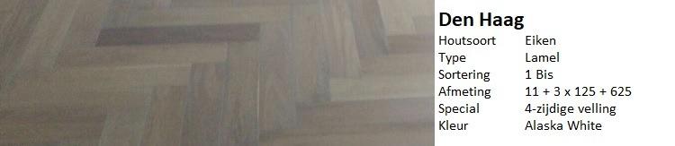 vergrijsde visgraat vloer