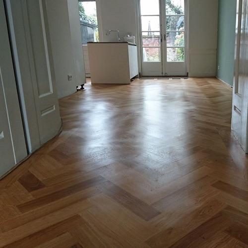 naturel visgraat vloer Utrecht