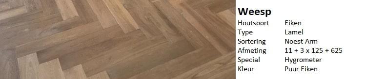 grijze visgraat vloer
